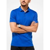 Polo En Coton Michael Kors Homme Bleu Nautique France Magasin