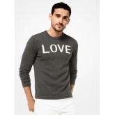 Pull-Over Love En Cachemire Michael Kors Homme Charbon Magasin Lyon