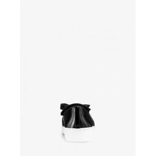 Val Patent Leather Slip-On Sneaker Michael Kors Femme Noir Ventes Privées