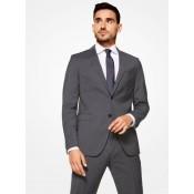 Acheter des Nouveau Costume Sergé Coupe Cintrée Michael Kors Homme Charbon