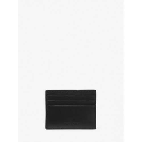 vente officielle lacer dans rencontrer Grand Porte-Cartes Odin En Cuir Michael Kors Homme Noir En ...