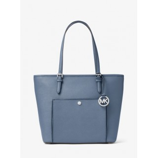 Grand Sac à Main Jet Set Travel En Cuir Michael Kors Femme Denim Site Officiel