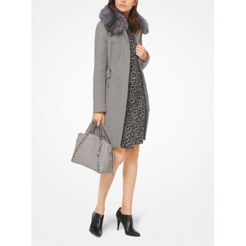 Manteau noir femme michael kors