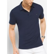 Polo En Coton Michael Kors Homme Bleu De Minuit Soldes Nice