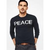 Pull-Over Peace En Cachemire Michael Kors Homme Bleu De Minuit à Vendre