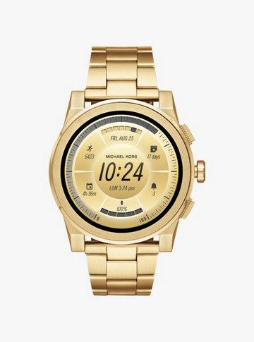cf0428dc35dc ... Michael Kors lance sa montre connectée de luxe  Montre ...