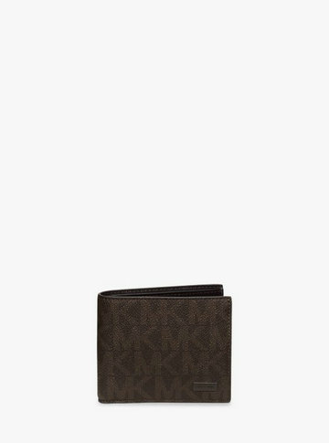 Portefeuille Porte-Cartes Jet Set Michael Kors Homme Marron